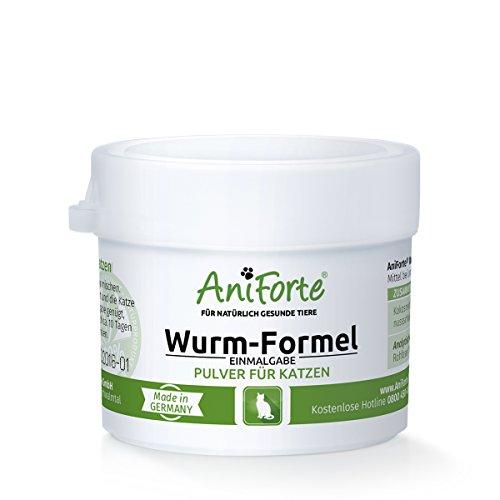 AniForte Wurm-Formel 10 g Einmalgabe Naturprodukt für Katzen