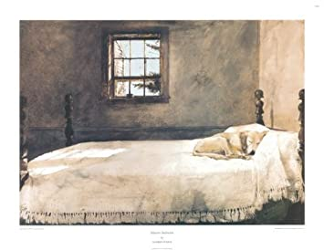 Master Bedroom Art Poster Print By Andrew Wyeth, 29x22