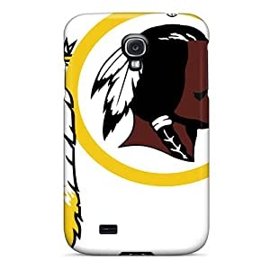 Awesome Washington Redskins Flip Case With Fashion Design For Galaxy S4