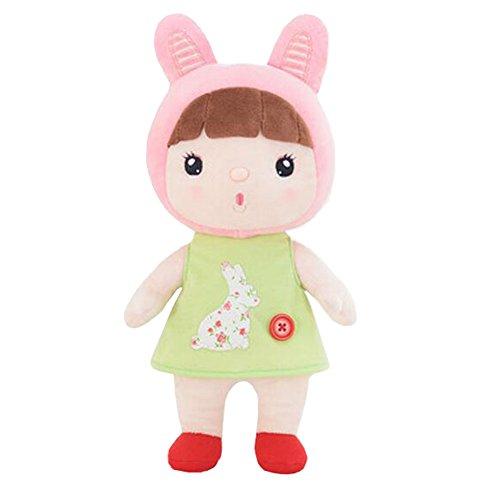 Poupées d'apaisement mignon Peluche Lovely Soft Toy Girlfriend Enfant Birthday Doll Gift, lapin