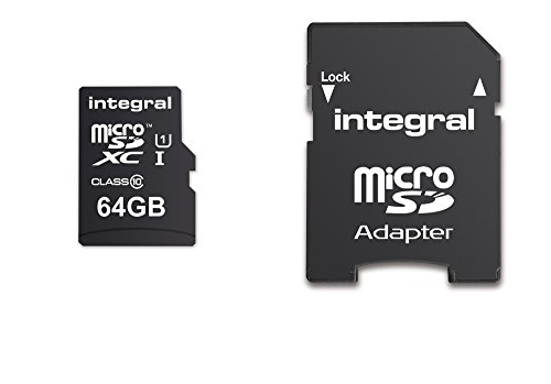 - Integral micro SDHC/XC Cards CL10 64GB - Ultima Pro - UHS-1 90 MB/s transfer