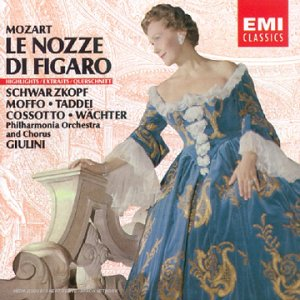 UPC 077776340920, Mozart: Le Nozze Di Figaro (highlights)