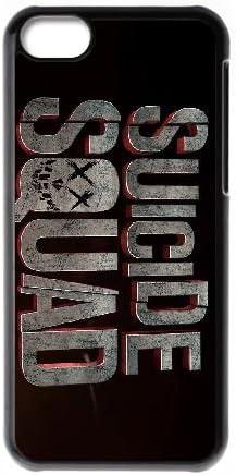 Suicide Squad 1 funda iPhone 5C caja funda del teléfono celular del teléfono celular negro cubierta de la caja funda EDGCBCKCO10622: Amazon.es: Electrónica