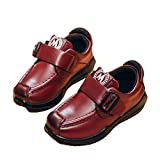 Boy's Girl's Leather School Uniform Dress Oxford Dress Slip-On Casual Shoes (Toddler/Little Kids/Big Kids)