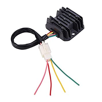 Wingsmoto 4 Wires Voltage Regulator Rectifier Motorcycle ... on