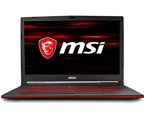 MSI GL738RD031 8RD-031 Full HD Performance Gaming Laptop i7-8750H (6 cores) GTX 1050Ti 4G, 16GB 128GB + 1TB, 17.3