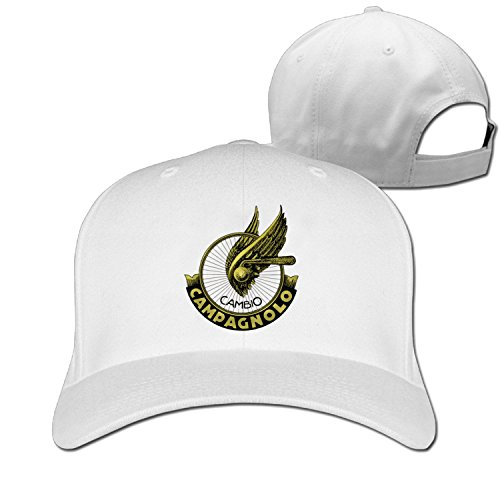 Truck caps Cool Campagnolo Wheel Logo Men Women hat White (5 colors)