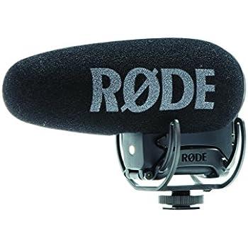 Rode VMPRPLUS Videomic Pro-R+ On-Camera Shotgun Condenser Microphone