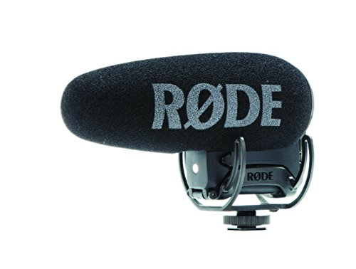 - Rode VideoMic Pro+ Compact Directional On-Camera Shotgun Condenser Microphone