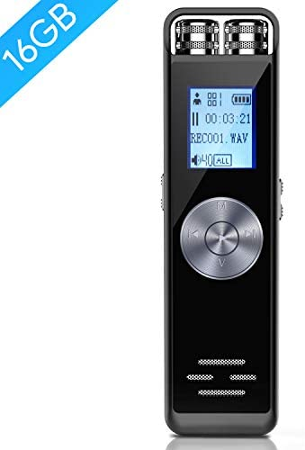 Digital Voice Recorder TENSAFEE Dictaphone product image