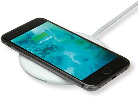 ROLINE Caricatore a induzione per dispositivi mobili, 10W Carica uno smartphone compatibile o altri dispositivi Qi compatibili con Qi Wireless charging