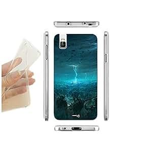 caselabdesigns carcasa funda blanda Fantasy monstruos para Huawei Honor 7i TPU–Concha de silicona protectora antigolpes