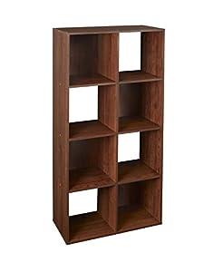 ClosetMaid (4106) Cubeicals Organizer, 8 Cube   Dark Cherry