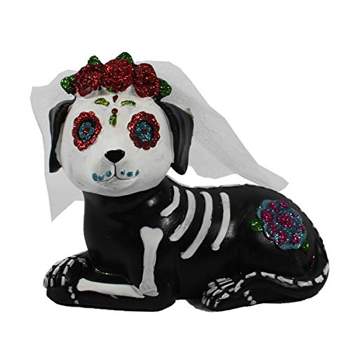 Happy Home Gifts Day of The Dead Dog Bride -