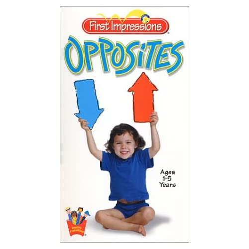 Amazon.com: Baby's First Impressions: Opposites [VHS]