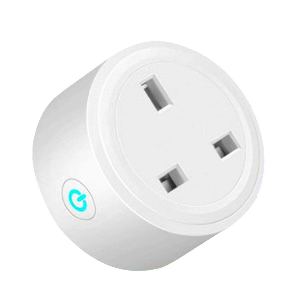 AIflyMi Smart Socket Support  Alexa Google Assistant IFTTT(UK Plug)