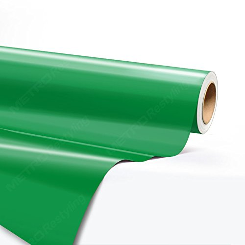 5ft x 2ft (10 Sq/ft) Hexis GLOSS EMERALD GREEN Vinyl Car Wrap Film   HX20348B