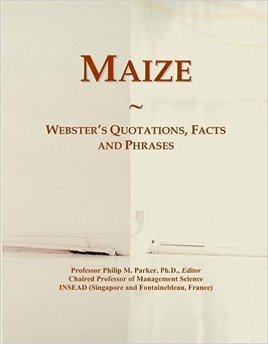 Téléchargement gratuit de livres audio et de texteMaize: Webster's Quotations, Facts and Phrases B001CV9CLE (French Edition) PDF MOBI