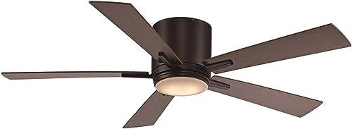 Trans Globe Lighting F-1017 ROB 52″ 5 Blade Hugger Indoor DC Motor Ceiling Fan