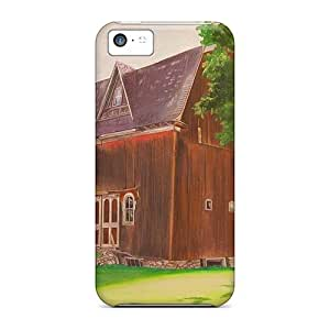 Anti-scratch And Shatterproof This Old Barn Phone Case For Iphone 5c/ High Quality Tpu Case