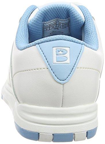 Weiß Women's Bowling Brunswick Weiß Blau Schuhe atqxx8
