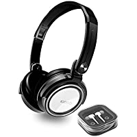 Buy Icon Q - Kicks² Swivel Headphones with Earbuds Combo - White - QHE210 offer