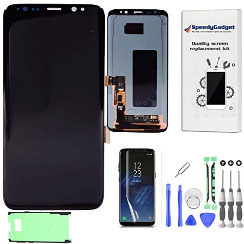 speedygadget [OEM Quality] LCD Digitizer Screen Touch Assembly Replacement LCD Display For Samsung Galaxy S8 by