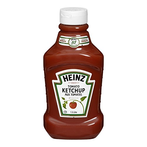 HEINZ Ketchup Family Size-Fridge Fit, 1.5 Liters/50.72 Fluid Ounces {Imported from Canada}