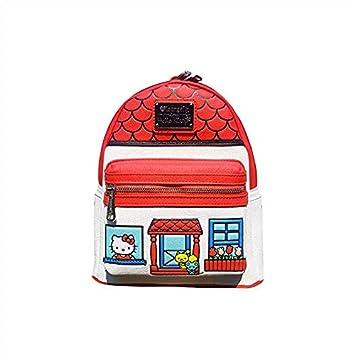3b080e882 Amazon.com | Loungefly Hello Kitty Faux Leather Mini Backpack Standard |  Casual Daypacks