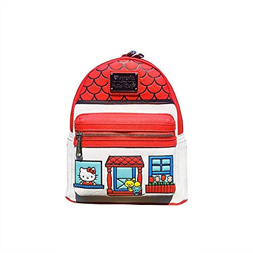 Loungefly Hello Kitty Faux Leather Mini Backpack Standard