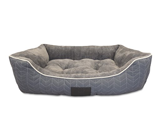 Herringbone Quilted Cuddler Gray Color product image