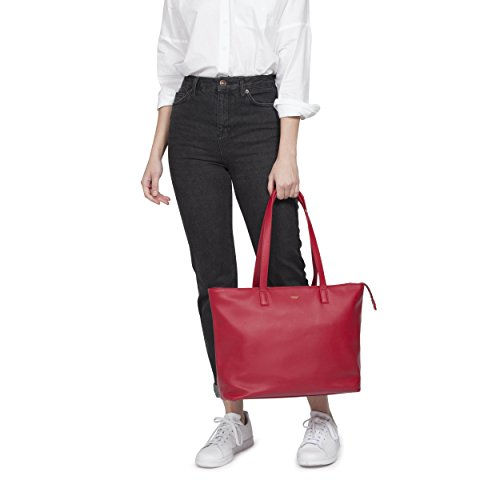 KNOMO Maddox Leather 15'' Laptop Tote by Knomo