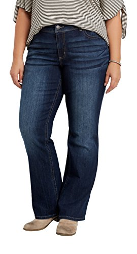 Wholesale maurices Women's Denimflex Plus Size Dark Wash Slim Boot Jeans