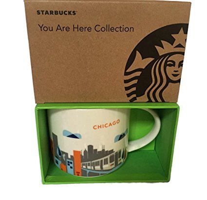 Starbucks You Are Here  Chicago Stackable Mug Latest Release