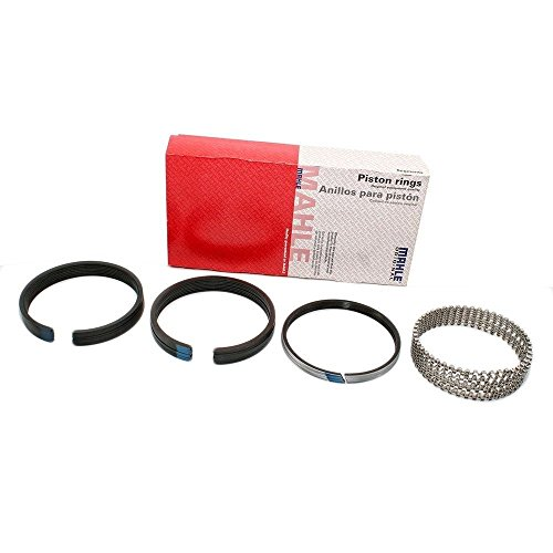 MAHLE Original 41940 Ford 6.0L Power Stroke & Navistar VT275/365 & MaxxForce 5 Standard Piston Ring Set, 8 Pack