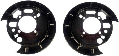 Dorman 924-208 1pr.Rear L/R Brake Dust Shield Backing Plate 15158972 15158973 Dorman - OE Solutions