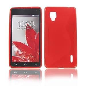 Lg Ls970 (Optimus G) Crystal Red Skin Case
