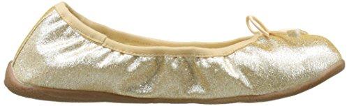 Le Temps des Cerises Allegra/E17, Bailarinas para Mujer Dorado (Glitter)