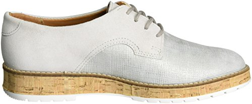 Comfortabel 950714, para Zapatos de Cordones Brogue para 950714, Mujer plateado 6e15b7