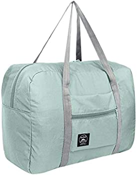 Mokingtop Folding Nylon Water Resistant Travel Duffel Bag