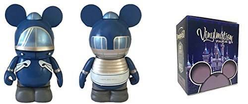 Walt Disney World Series 16 Vinylmation 2 Pack Reveal/Conceal Blind Box with Monorail Mark Blue Mystery Figure