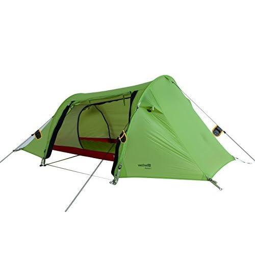 Wechsel tents ZERO-G LINE Tente de Trek «Aurora 1 » – Tente de Randonnée ULTRA LÉGÉRE pour 3 Personnes 3000mm CE – Couleur Poire d'hiver