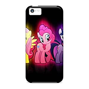 Back phone carrying cases High Quality Iphone case Durability iphone 4 /4s - my little pony