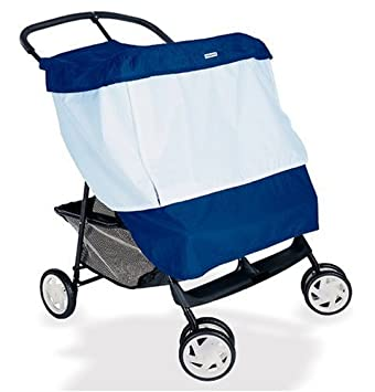 CHICCO Activ3 Jogging Baby Stroller Mosquito Insect Bug Net Mesh White Cover NEW