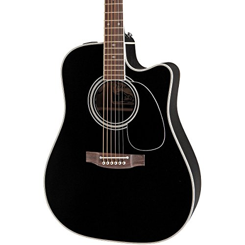 Studio Dreadnought Acoustic Guitar (Takamine EF341SC Dreadnought Acoustic-Electric)