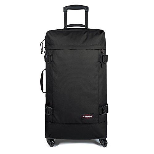 Eastpak Trans4 L Koffer, 75 cm, 80 Liter, Checksange Black Schwarz