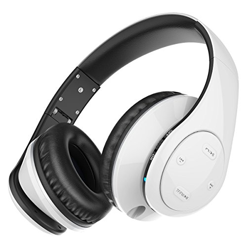 bluetooth headphones picun p7 stereo wireless foldable over ear headsets with mic and volume. Black Bedroom Furniture Sets. Home Design Ideas