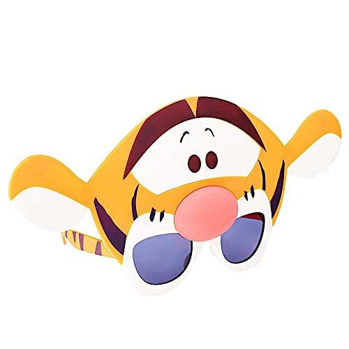 (Costume Sunglasses Winnie the Pooh Tigger Sun-Staches Party Favors UV400)