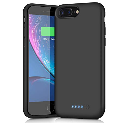 Battery Case for iPhone 6s Plus/6 Plus/7 Plus/8 Plus,8500mAh Portable Charging Case External Battery Pack for iPhone 6s Plus/6 Plus/7 Plus/8 Plus Rechargeable Charger Case Backup Power Bank(5.5 inch) best to buy