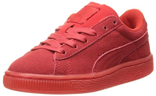 Red Classic Kid Risk Sneaker Big Kid Puma High White Jr Suede Little vxHfqan1Zw